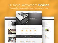 Revison. Template for Freelancers by KonnstantinC