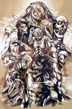 Best Attack On Titan - Anime, Cartoon Attack On Titan Season 2, Attack On Titan Fanart, Attack On Titan Funny, Attack Titan, Armin, Mikasa, Attack On Titan Tattoo, S4 Wallpaper, Titan Shifter