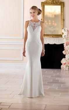 Stella York 6404 SIZE 18 IVORY Available up to size 20 New Wedding Dresses, Designer Wedding Dresses, Bridesmaid Dresses, Gown Wedding, Wedding Attire, Lace Wedding, Prom Dresses, Stella York Bridal, Beaded Lace