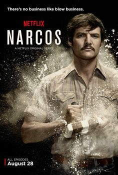 Narcos. So amazing. And so addictive.