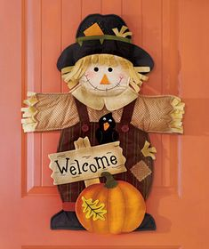 Fabric Festive Door Greeter is a cute alternative to a wreath. It adds wonderful color to a front door, or use it on an interior door or wall.Comes ready