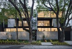 Built by D+S Arquitectos in Mexico City, Mexico The development is locatedon a rectangular plot of 450 m2, with a 21 mtfrontage.  The building is designedwithtwo...