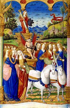 Allégorie - triomphe de la Chasteté by renzodionigi.