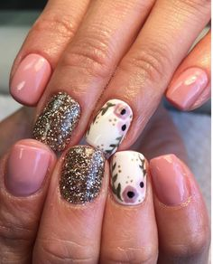 35 Pink And White Nails And Designs Love Nails, How To Do Nails, Pretty Nails, My Nails, S And S Nails, White Nails, Pink Nails, French Tip Nails, Colorful Nail Designs