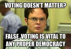 Don't ignore your vitals...or your rights! #democracy #voting #yourvotecounts