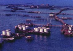 """Stalinist Utopia on the Caspian Sea...Hokhsbat Yusifzadeh, vice president of Socar, the state-owned Azerbaijan oil company, worked on Neft Dashlari in the early days. """"We were pioneers in those days, and the oil flowed in huge quantities, he says. He has fond memories of the time. """"Don't forget there were many women on Neft Dashlari, and the evenings were long at sea.""""  SpiegelOnline"""
