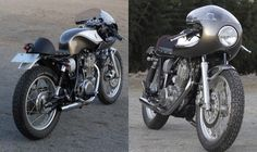 cafe racer parts | Gull Craft Yamaha SR400 Cafe Racer ~ Return of the Cafe Racers