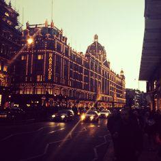 Harrods Christmas Lights | London