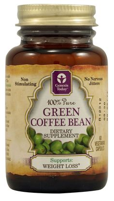 Genesis Today Pure Green Coffee Bean Extract  Helps you loose weight Fast!! I am trying this =) Thank You Dr. Oz