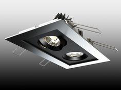 X1053 4W LED Flush Front Shomei 2