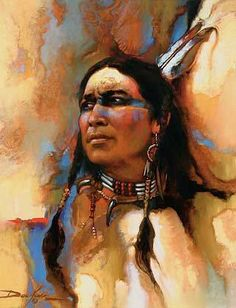 The Native American way of life and decorative nature has always attracted me to paint them. This is a contemporary portrait of a Sioux Indian I met in the Midwest. Original oil painting by Russ Docken. Native American Paintings, Native American Pictures, Native American Artists, Native American History, Indian Paintings, Native American Drawing, Portrait Paintings, Oil Paintings, Tattoo Indio