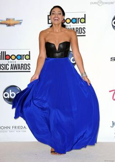 Jordin Sparks in Mason by Michelle Mason at the Billboard Music Awards (May 2012)
