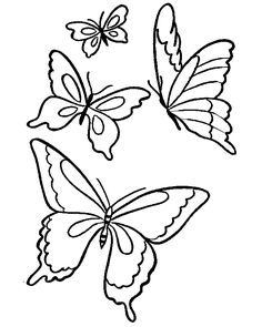 Butterfly Printable Coloring Pages Sheets And Pictures