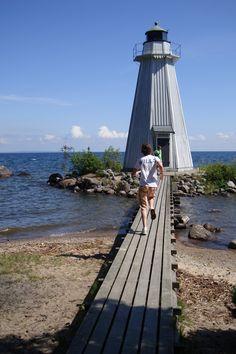 Vanas Lighthouse, Karlsborg, Sweden