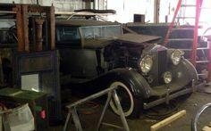 Warehouse Wraith: 1937 Rolls-Royce - http://www.barnfinds.com/warehouse-wraith-1937-rolls-royce/