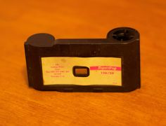 126 film canister...later replaced by by 110 film -- it was smaller.
