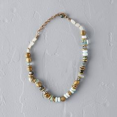 Gemstone Mix Rondelle Necklace