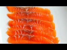 How To Cold smoke Salmon - Cold Smoked Salmon video Recipe - Cold Smoking Fish Smoked Salmon Brine, Smoked Salmon Recipes, Smoked Fish, Fish Recipes, Seafood Recipes, Fish And Meat, Fish And Seafood, Nova Lox Recipe, Salmon Lox
