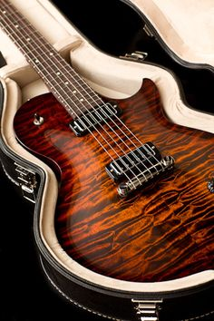 Collings CL with Tiger Eye Sunburst Finish Electric Guitar