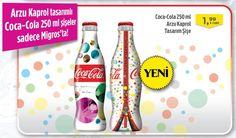 Arzu Kaprol tasarımlı Coca-Cola 250 ml şişeler sadece Migros'ta! http://www.sanalmarket.com.tr/kweb/prview/1428215-32010-coca-cola-250-ml-arzu-kaprol-tasarimli-sise?utm_source=link&utm_medium=link&utm_campaign=161014_msm_facebook_coca-cola-arzu-kaprol