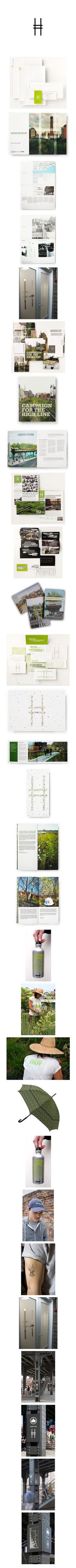 Paula Scher, Pentagram Design - The High Line