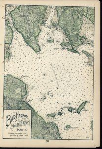 Best Antique Maps Images On Pinterest Antique Maps Old Maps - Antique map of maine