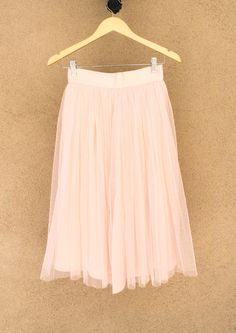 Sophia Pink Tulle Midi Skirt - a Perfect skirt for your Valentine's Day!