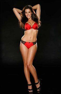 Ex Wonderbra model Katie Green launches a say no to size zero campiagn wearing sexy Ultimo undies | Celebrity underwear | Danielle Lloyd | The Sun |Woman| Fashion