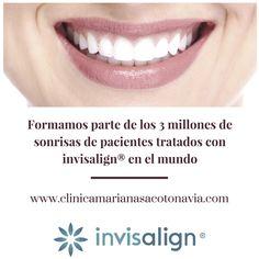 En Clínica Mariana Sacoto Navia las 1.000 sonrisas de nuestros pacientes ya forman parte de los 3 millones tratados en el mundo con invisalign®