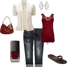 summer stuff, created by cbaczuk on Polyvore