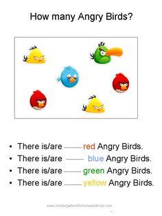 Kindergarten Math Worksheets | Angry Birds Math Worksheets for ...