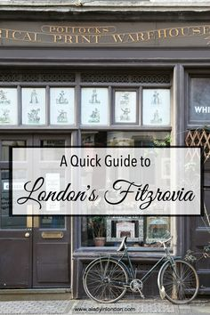 I have spent so much time in the neighborhood that today I want to let you in on my favorite places. Get ready for the best of Fitzrovia, London.