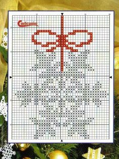 Brilliant Cross Stitch Embroidery Tips Ideas. Mesmerizing Cross Stitch Embroidery Tips Ideas. Cross Stitch Christmas Ornaments, Xmas Cross Stitch, Cross Stitch Needles, Cross Stitch Cards, Christmas Embroidery, Christmas Cross, Counted Cross Stitch Patterns, Cross Stitch Designs, Cross Stitching