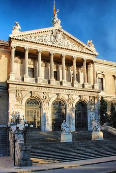 Madrid. Biblioteca Nacional. by josemazcona, via Flickr