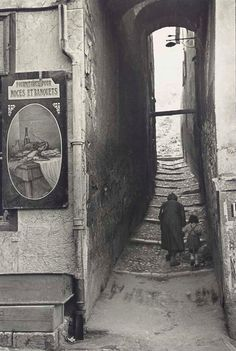 Henri Cartier-Bresson  Briançon, France, 1951