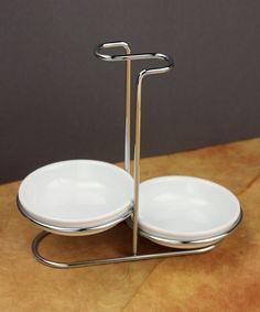 Look at this #zulilyfind! Dual Spoon Rest by Omniware Inc.  #zulilyfinds