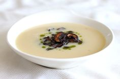 Don't be scared off by the amount of garlic in this soup. Yes, the number of cloves is way up there, somewhere around 40, but the resulting flavor is smooth, mellow garlic without any bite. The texture is just as enticing, creamy and rich without any cream or coconut milk added. Organosulfur compounds that show [...]