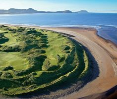 """Padraig Harrington: My 10 Favorite Courses: Waterville (No. 76 on Top 100 Courses in the World): """"What a challenge! A big strong tough links golf course where you feel at the edge of the world as you are out there on the South West coast of Ireland."""""""