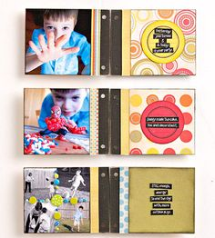 balanced layouts in a sm album: place full pg pics only on left hand pgs and keep right open for journaling