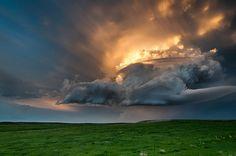 South Dakota skyline.