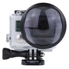 Polar Pro Macro Close Up Lens Glass Filter for GoPro Hero3+ Camera Housing Preview
