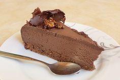 Τούρτα σοκολατίνα. Τούρτα σοκολατίνα με βάση φουντουκιού! Chocolate Sweets, Greek Recipes, Party Time, Sweet Tooth, Cheesecake, Food And Drink, Pudding, Eat, Desserts
