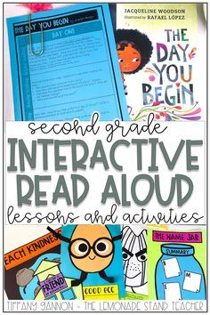 Interactive read alouds teach students amazing lessons, especially in second grade! These lessons are perfect to use in the classroom or for distance learning, with printable and digital versions included. Click the pin to see ALL the amazing books, language arts activities, and engaging lessons included in this resource for you to use in your classroom! #secondgrade #interactivereadalouds