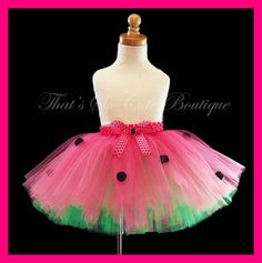 Cute tutu idea watermelon tutu party dress up Diy Tutu, Tulle Dress, Dress Up, Tutu Dresses, Tutu Skirts, Party Dresses, Tulle Crafts, Sewing For Kids, Diy Clothes
