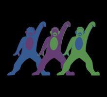 Neon Monkeys from fantasmic!