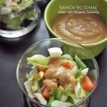 Sarada No Gomae – Salad with Sesame Dressing