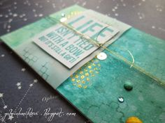 Gabi M. craftuje: {TUTORIALS& GIFTS} Ombre Cards: Jedna barva, dva styly :) Cardmaking, Crocheting, Challenges, Gift Wrapping, Tutorials, Bows, Scrapbook, Gifts, Crochet