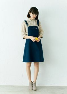 I want something similiar to her overals (reference since i cant find the price)                                        haco.[ハコ] haco. Fresh Coordinate20|フェリシモ