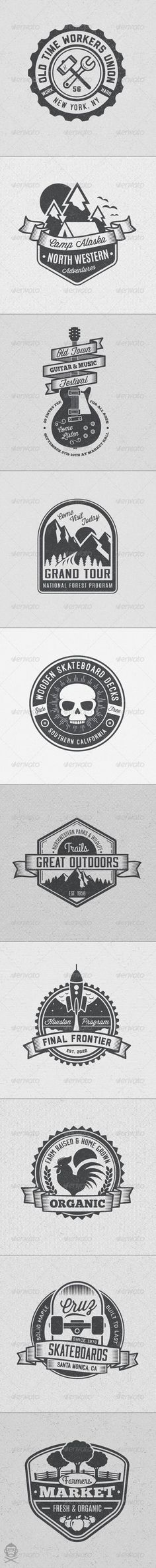 Vintage Style Badges and Logos Template | Buy and Download: http://graphicriver.net/item/vintage-style-badges-and-logos-vol-4/8594929?WT.ac=category_thumb&WT.z_author=GraphicMonkee&ref=ksioks: