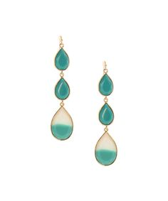 Look at this Turquoise Ombré Tiered Drop Earrings on today! Diy Fashion Accessories, Jewelry Accessories, Fashion Jewelry, Jewelry Box, Jewelry Watches, Diamond Are A Girls Best Friend, Designer Earrings, Bling, Stud Earrings